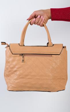 View the Inga Quilted Handbag online at iKrush