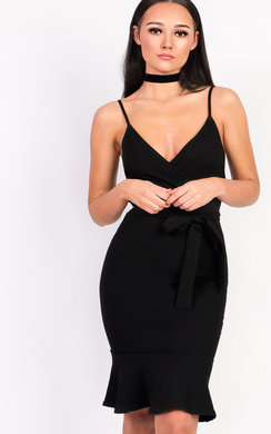 View the Lolita Bodycon Frill Midi Dress  online at iKrush