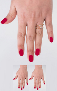 View the Vlada Double Diamante Ring online at iKrush