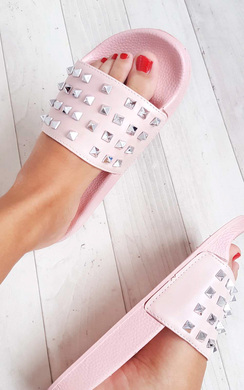 View the Amra Studded Sliders online at iKrush