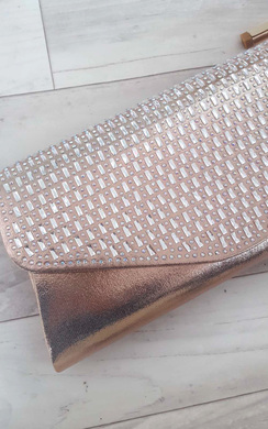 View the Tia Embellished Clutch Bag online at iKrush