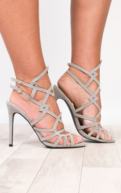 View the Elise Cut-Out Stiletto Heels online at iKrush