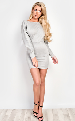 View the Jayda Jumper Dress online at iKrush