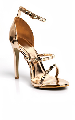 View the Alez Studded Heels online at iKrush
