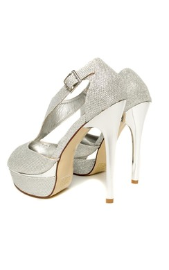 View the Alisha Peep Toe Platform Shoes online at iKrush