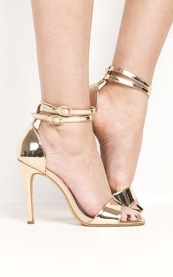 View the Melanie Patent Barely There Heels online at iKrush