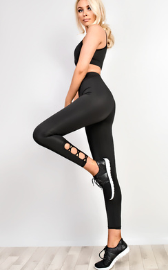 View the Active Cut Out Gym Leggings online at iKrush