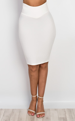 View the Olena Pencil Skirt online at iKrush