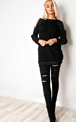 View the Kathie Ripped Skinny Jeans online at iKrush