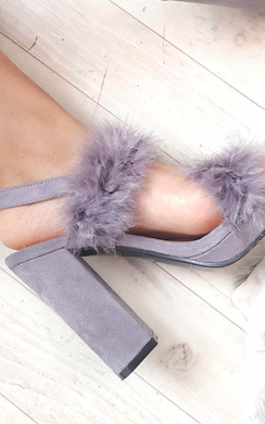 View the Alex Fluffy High Heels  online at iKrush