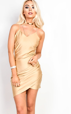View the Isabelle Gathered Bodycon Dress  online at iKrush
