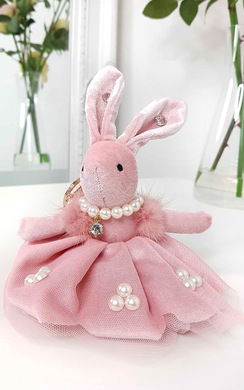 View the Katie Bunny Key Ring online at iKrush