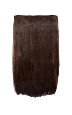 View the Intense Volume Clip In Hair Extensions - Flicky Brunette online at iKrush
