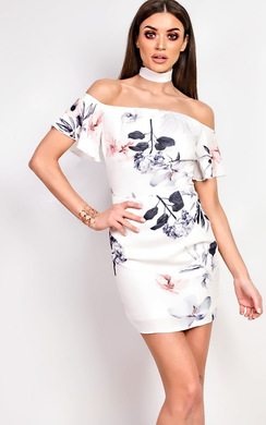 View the Alma Floral Dress online at iKrush