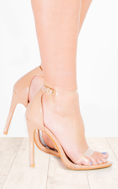 View the Kim Clear High Heels online at iKrush