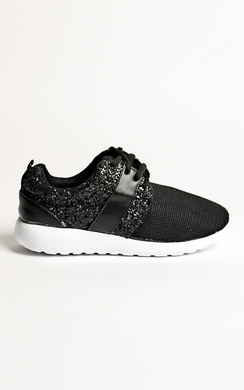View the Skye Glitter Detail Trainers online at iKrush