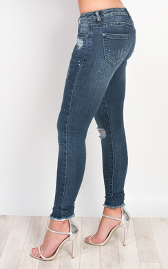 View the Zylla Ripped Skinny Jeans online at iKrush