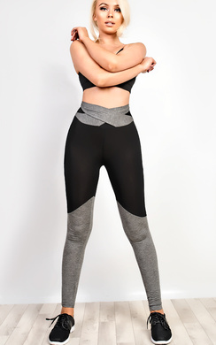 View the Active Wrap Around Gym Leggings online at iKrush