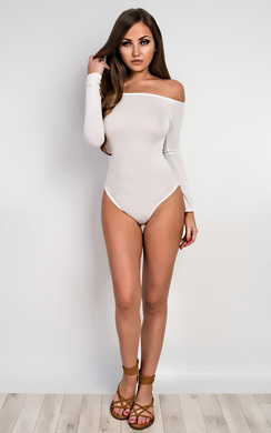 View the Neve Basic Off Shoulder Bodysuit  online at iKrush