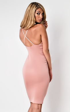 View the Rhona Bodycon Dress  online at iKrush