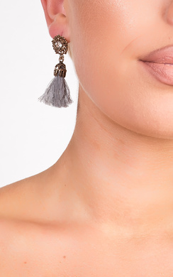 View the Valenciaga Tassel Jewel Earrings  online at iKrush