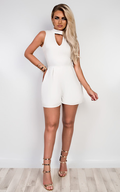 View the Madge Cut Out Playsuit online at iKrush