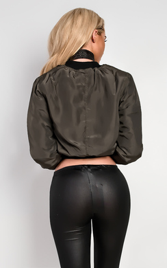 View the Lola Bomber Jacket online at iKrush