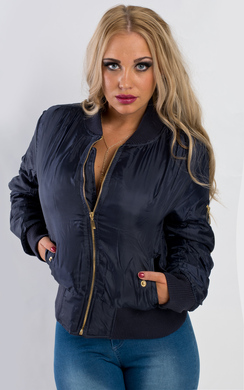View the Shani Bomber Jacket online at iKrush
