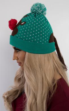 View the Ralphie Rudolph Bobble Hat online at iKrush