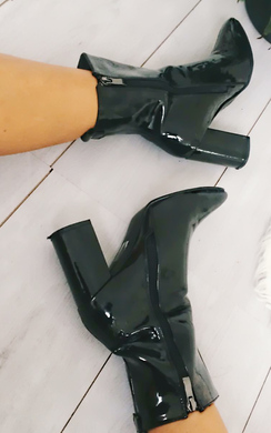 View the North Patent Heeled Ankle Boots  online at iKrush