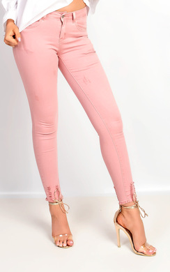 View the Carmela Skinny Distressed Jeans online at iKrush
