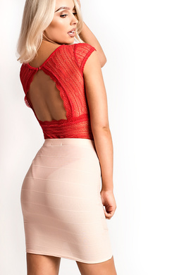 View the Molly Bandage Skirt online at iKrush