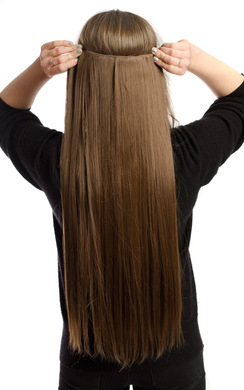 View the Clip In Hair Extensions - Straight online at iKrush