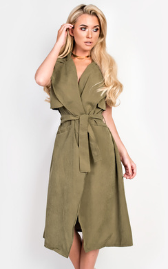 View the Keira Sleeveless Coat  online at iKrush