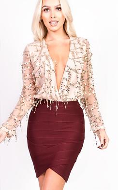 View the Molly Bandage Skirt online at iKrush