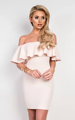 View the Brie Off Shoulder Bodycon Dress online at iKrush