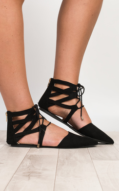 View the Neoma Lace-Up Sandals online at iKrush