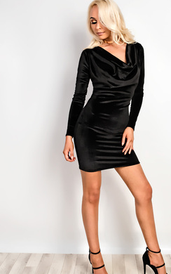 View the Dash Velvet Dress online at iKrush