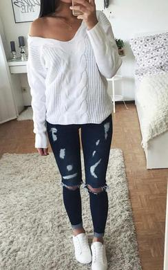 View the Lexis Ripped Skinny Jeans online at iKrush