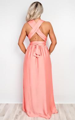 View the Zavia Multi-Way Maxi Dress online at iKrush