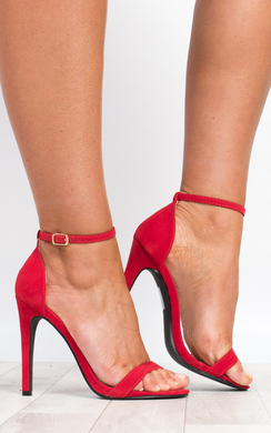 View the Etta Faux Suede High Heels online at iKrush