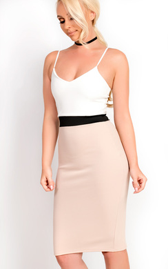 View the Adriana Midi Bodycon Dress online at iKrush