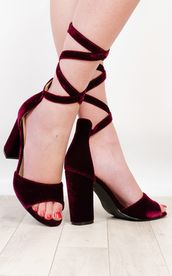 View the Corina Strappy High Heels  online at iKrush