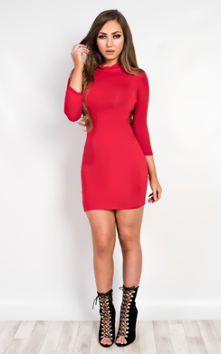 View the Kapri Basic Bodycon Dress online at iKrush