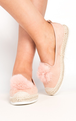 View the Yasmin Pom Pom Espadrilles online at iKrush