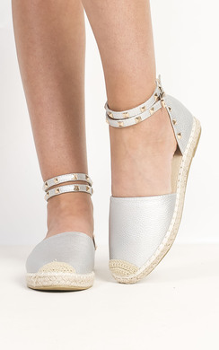 View the Giovanni Studded Espadrilles online at iKrush