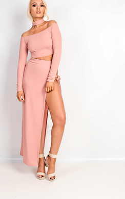 View the Tasha Cut Out Co-ord online at iKrush