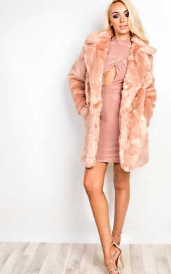 View the Arabelle Faux Fur Jacket online at iKrush
