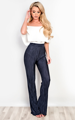 View the Valentina Ribbed Trousers online at iKrush