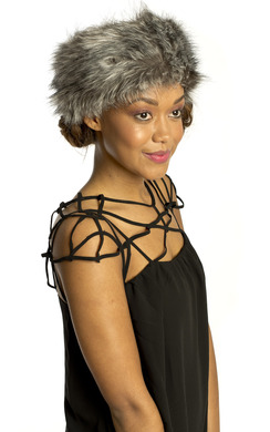 View the Niya Faux Fur Headband online at iKrush